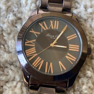 Kenneth Cole brown rose watch